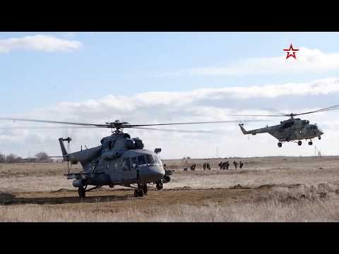 Учения воздушного десанта