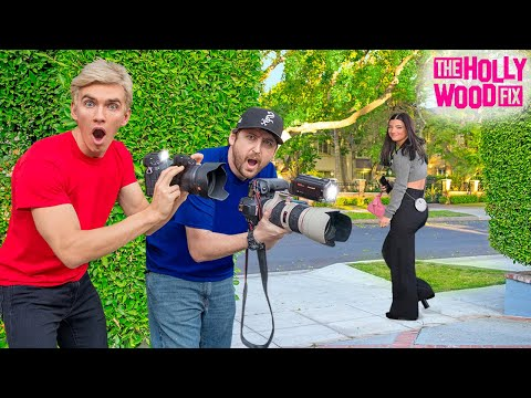 WORKING UNDERCOVER as PAPARAZZI for 24 HOURS!! (Stephen Sharer Reveals Secret Lives)