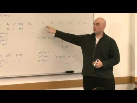 Rec 1 | MIT 6.00SC Introduction to Computer Science and Programming, Spring 2011