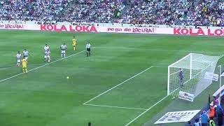 Penal Jerémy Ménez atajado por Jonathan Orozco, Santos Laguna 2-1 Águilas América, Semifinales