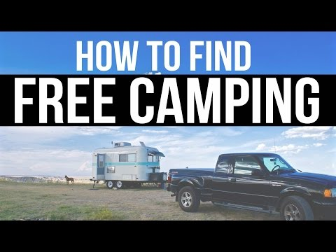 How to Find Free Camping? | Boondocking & Dry Camping Resources | Fulltime RV Living & Van Camping
