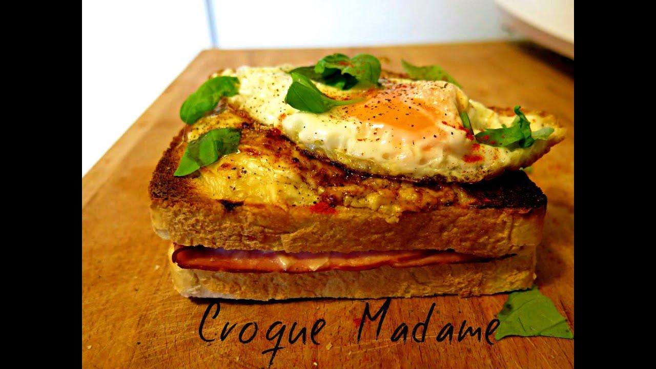 how to make croque madame