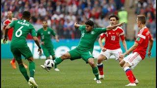 Nga thắng Saudi Arabia 5-0 trong trận khai mạc World Cup 2018