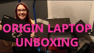 Origin Laptop Unboxing Thumbnail
