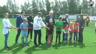 Открытие стадиона в Толмачёво