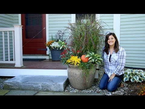 Two Fall Container Ideas // Garden Answer