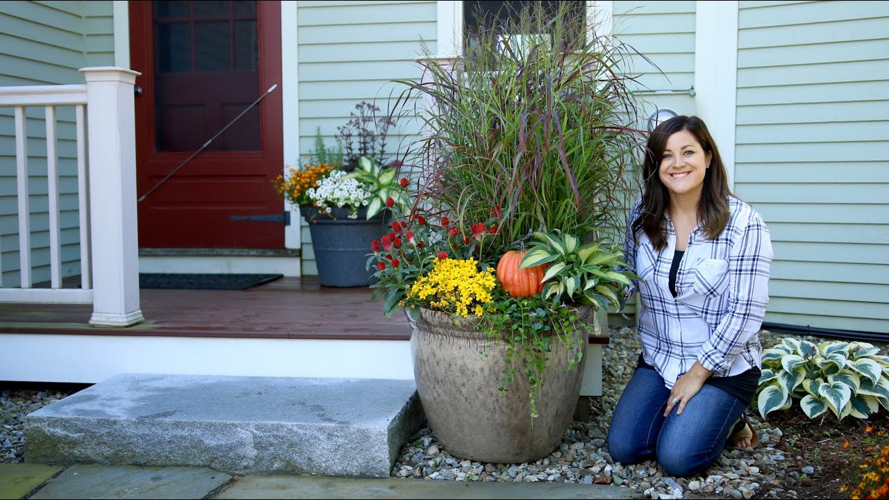 168 & Two Fall Container Ideas // Garden Answer