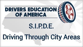 Driving in City Areas of Texas  SIPDE  6 Hour Online Adult Driving Ed School Course