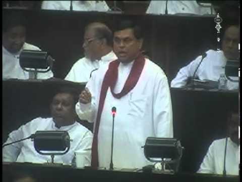 Basil Rajapakse at parliament
