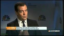 Interview mit Dmitri Medwedew (CNBC) von BLÖD Zeitung falsch wiedergegeben
