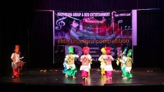 Royal Folk Nation First Place Elite Bhangra Comp 2015