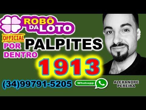ROBO Da LOTOFACIL FUNCIONA (PALPITES FORTES 1913) ROBÔ LOTOFÁCIL VALE A PENA MESMO ROBÔ DA LOTO Robo