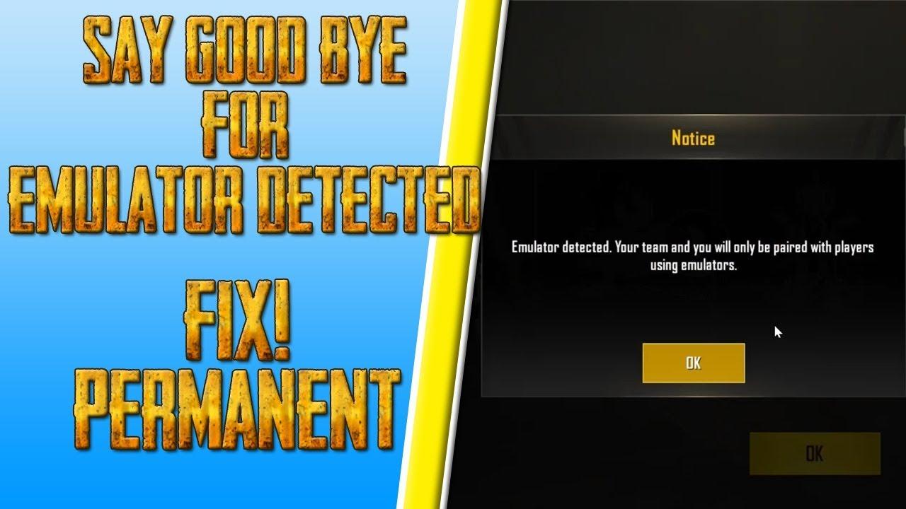 pubg mobile nox emulator detected