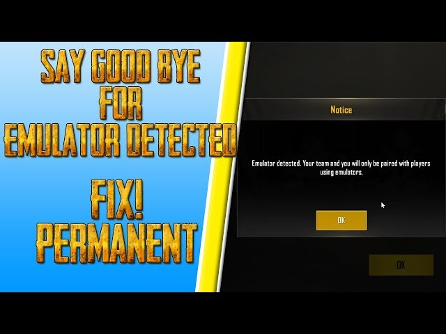 ld player emulator detected fix