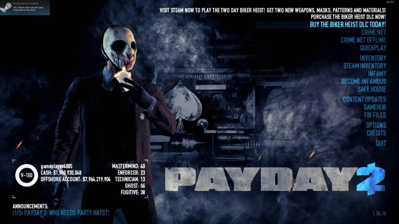 Payday  Build Deathwish