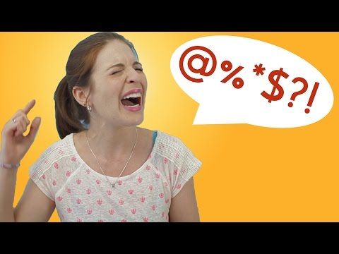 English SWEAR WORDS Less Taboo in Germany?! (video contains swear words)