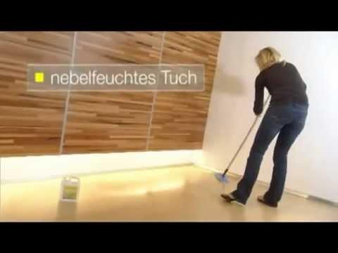 so pflegen sie versiegeltes parkett parkett polish freshen up youtube. Black Bedroom Furniture Sets. Home Design Ideas