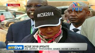 CS Amina's new tough rules to end KCSE exam leaks