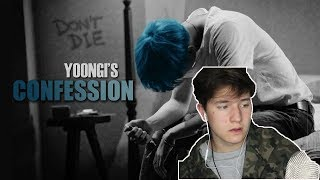 SUGA NO 😢 BTS ○ Yoongi's Confession (Short Movie) REACTION | Suga Bias reacts