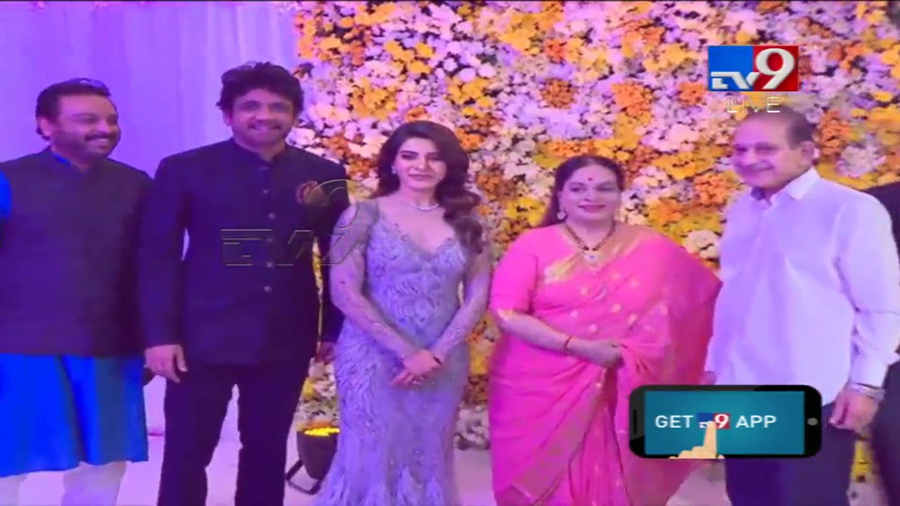 Superstar Krishna & Vijaya Nirmala at #ChaySam Wedding Reception ...