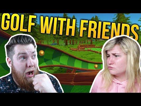 BOYFRIEND VS GIRLFRIEND GOLFING WITH FRIENDS! |  Little Kelly