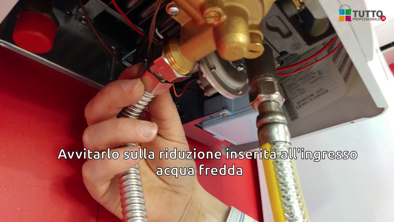 Kit montaggio installazione scaldabagno saunier duval opalia c11 c14 - Montaggio scaldabagno ...