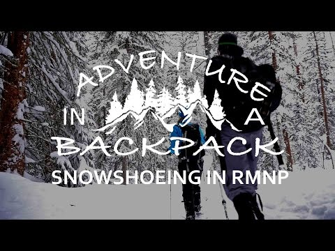Snowshoe Adventure In The Rocky Mountain National Park