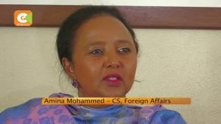 Amb Amina Mohamed speaks out after AUC loss