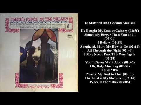 Jo Stafford and Gordon MacRae – There's Peace In The Valley (1963)