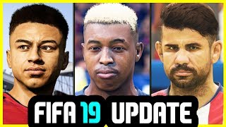 50 AMAZING NEW FACES ADDED TO FIFA 19 (November Update)
