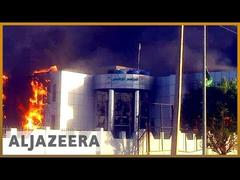 🇸🇩Sudan protesters torch ruling party HQ over rising prices | Al Jazeera English