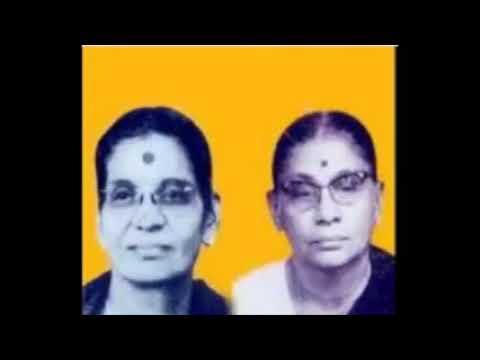 Smt T Brinda & Smt T Muktha - Brovasamaya Ragam Gowrimanohari