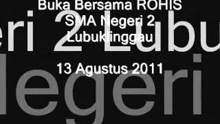 Rohis SMA negeri 2 lubuklinggau - Summer 2011.wmv