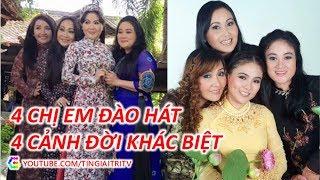 Số phận khác biệt của 4 chị em ruột Thanh Ngân, Thanh Hằng, Thanh Ngọc, Ngân Quỳnh - TIN GIẢI TRÍ