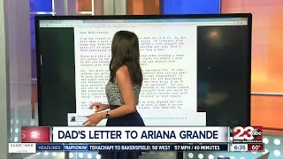Dad's Letter to Ariana Grande