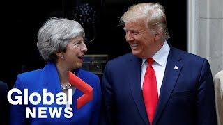 Donald Trump, Theresa May hold joint press conference | FULL