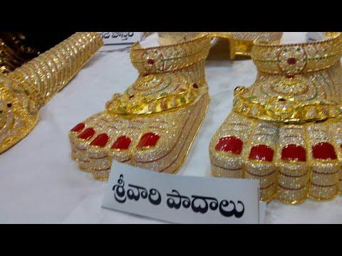 Tirumala Srivari Jewellery | Venkateswara Swamy Gold Details