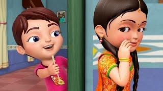 Çocuklar için Bhaiya Aur Behena | Hintçe Tekerlemeler İnfobells