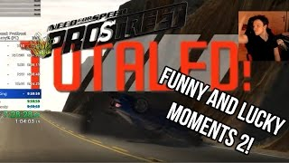 Funny And Lucky Moments - NFS Pro Street - Ep. 2