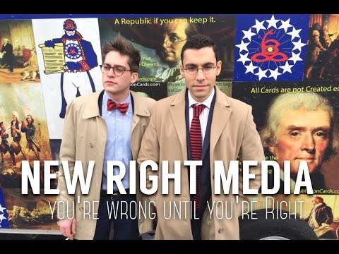 New Right Media is an upcoming satirical political web series starring Wintrich and George Aivaliotis. NRM chronicles the players in both the Democrat and Republican parties.
