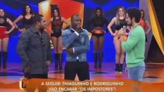 Thiaguinho e Rodriguinho cantam juntos no Programa Legendários - 27/10/2013