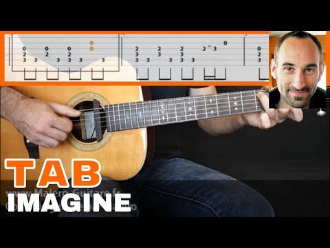 Imagine Guitar Tab