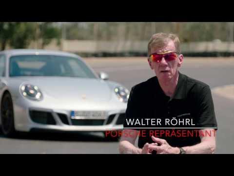 Walter Röhrl, Hans-Joachim Stuck und Mark Lieb zum neuen Porsche 911 GTS