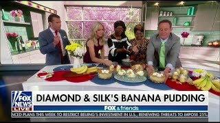DIAMOND AND SILK'S  BANANA PUDDING