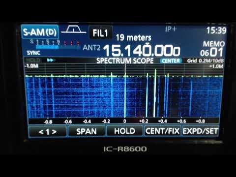 Radio Havana Cuba DXers Unlimited Oct 31 2017 on 15140Khz Shortwave Radio R8600