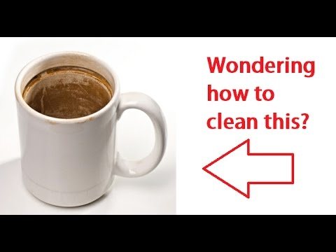 How To Remove Coffee Stains >> Learn how to clean coffee stains off your mug in 11 ...