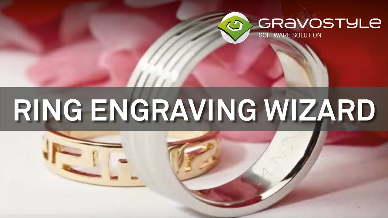 Jewellery engraving: ring and bracelet engraving machine