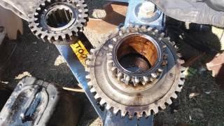 Mening gearbox va aks ta'mirlash UMZ-6