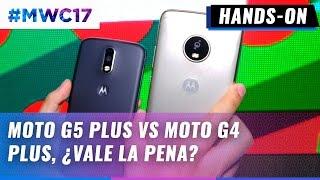 Moto G5 Plus vs Moto G4 Plus desde #MWC17