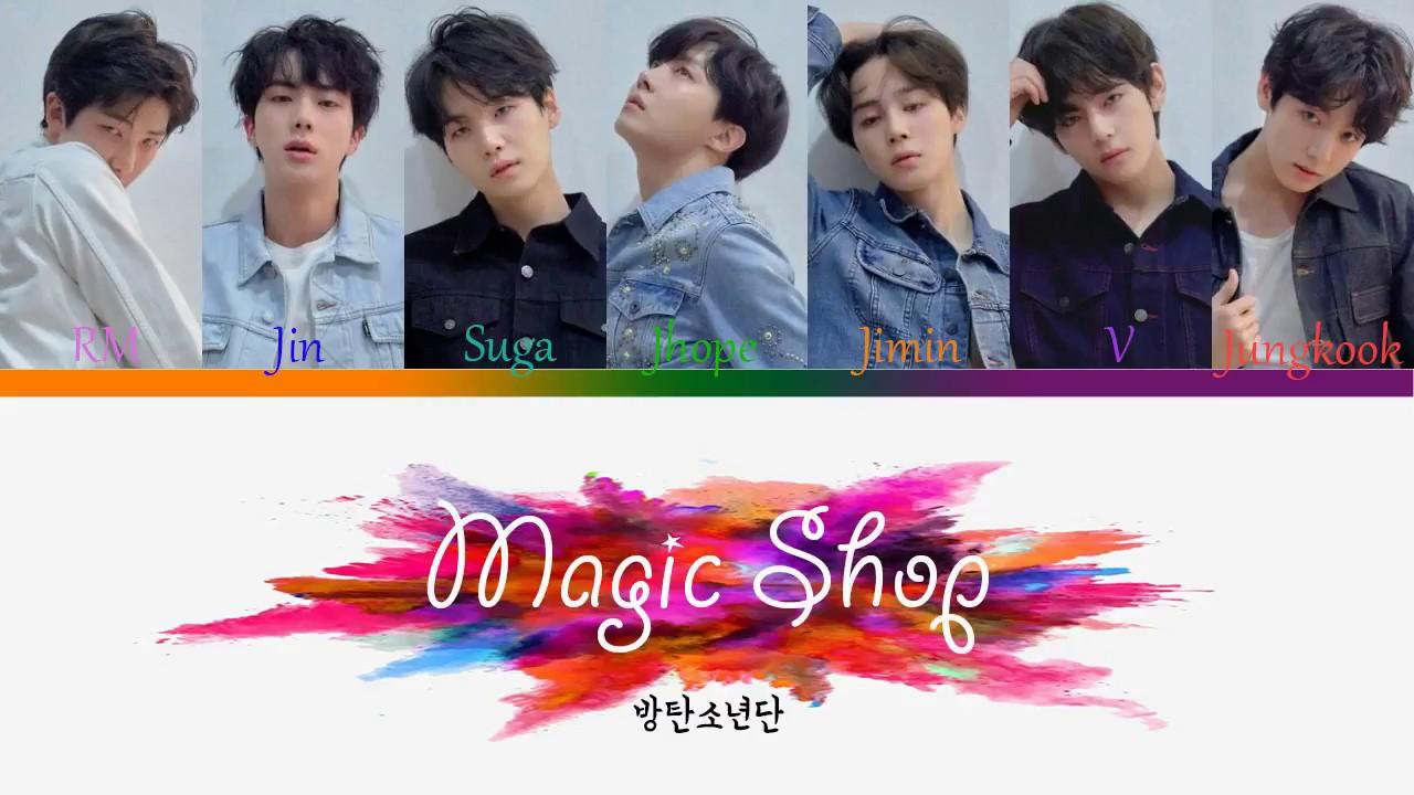 Download BTS (방탄소년단) – MAGIC SHOP | Color Coded Lyric Han/Rom/Eng